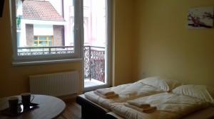 dvojlôžkové štúdio balkón